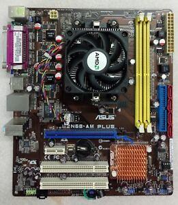 Carte-Mere-ASUS-M2N68-AM-Plus-AMD-Athlon-II-X2-240-2-80-Ghz-DDR2