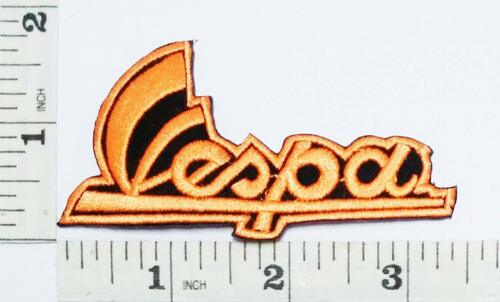 "Orange Vespa Moped Scooters Motorcycles 3.4/""x1.7/"" Sew Iron Embroidery Patch."