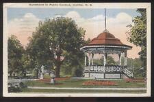 Postcard HALIFAX Nova Scotia/CANADA  Public Park Bandstand Gazebo view 1910's