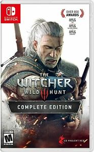 The Witcher III, 3 : Wild Hunt Complete Edition / Nintendo Switch