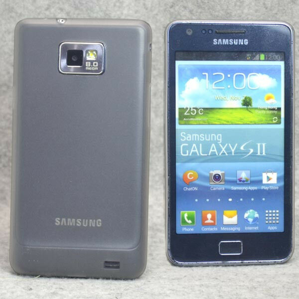 New Gray Ultra Thin Mist hard case cover for Samsung Galaxy S2 i9100 Plus