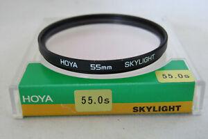 Hoya-55mm-Skylight-Filter-Free-UK-Postage