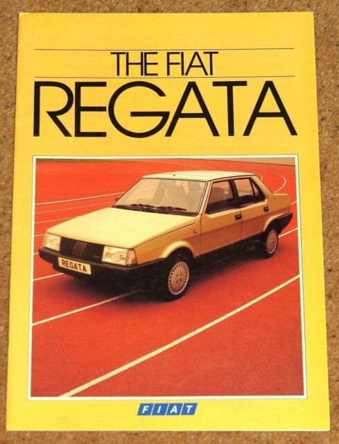 1984 fiat regata sales brochure 100 super 85 comfort 70 es cond rh ebay com Basic Tractor Wiring Diagram 1969 Fiat 500 Wiring Diagram