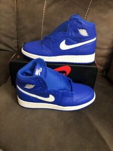 super popular 0deef bab1b Image is loading Nike-Air-Jordan-1-Retro-High-OG-GS-