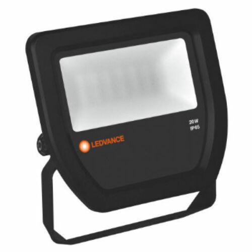 2 x Osram 097483 /'Ledvance/' LED Floodlight Fittings 4000K Black 20 Watt
