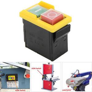 250V-10A-Interruttore-A-Pulsante-ON-OFF-Switch-Controllo-Macchina-Trapano-set