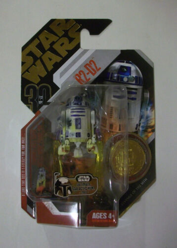 STAR WARS 30TH R2-D2 UGH GOLD COIN MOC  FREE SHIPPING!!
