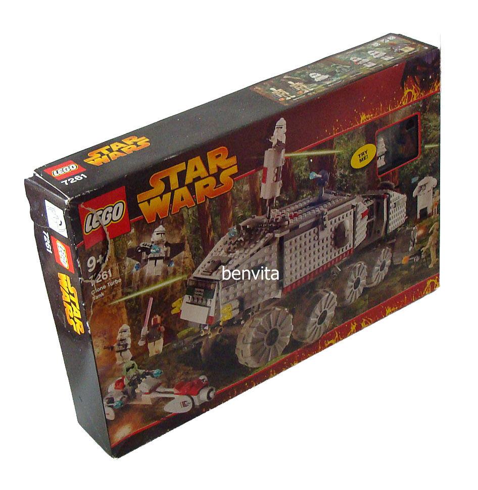 Lego® Star Wars 7261 - Clone Turbo Tank Tank Tank 813 Teile 9+ - Neu 2384cc