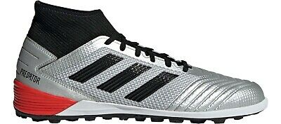 Adidas Mens Soccer Shoes RedCore BlackWhite Turf