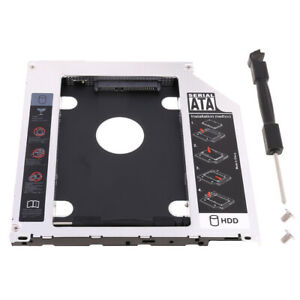 Generic New 2nd Hdd Hard Drive Caddy Apple Macbook Pro Mc700 Mc721 Mc723 Mc724 Mc725