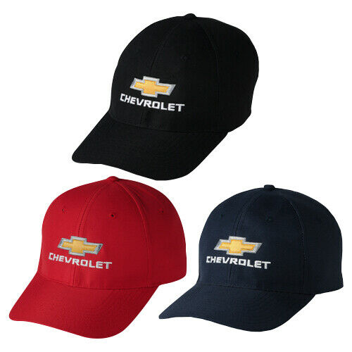 Chevrolet Gold Bow tie Stay Dry Sandwich Bill Hat Baseball Cap
