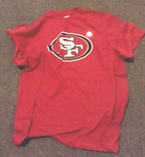 SF 49 Ers Football. NFL Size 2 XL ,red ,Reebok 100% Cotton
