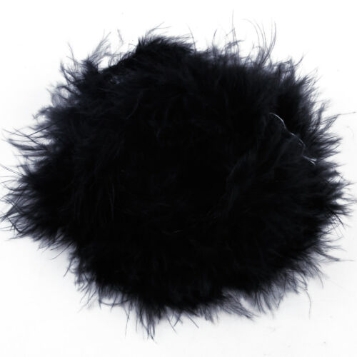 2M Fancy Dress Feather Boa Strip Ribbon Fluffy Craft Costume Wedding Party Decor