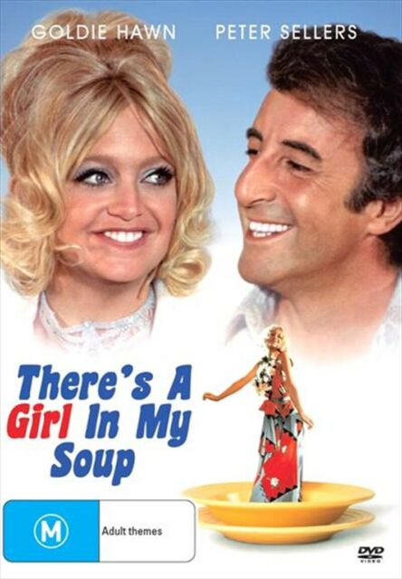 There's A Girl In My Soup, DVD
