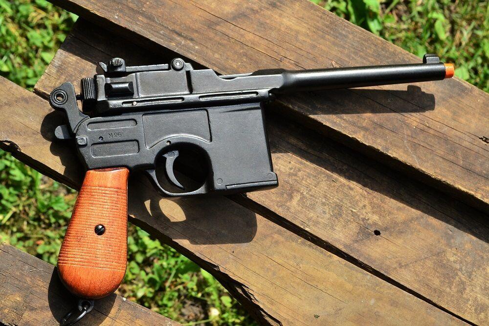 Wwii 1896 Mauser Automatic Pistol Broomhandle German