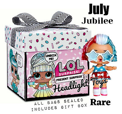 Present Surprise Doll W// 8 Surprises LOL Surprise Gift Box New Sealed