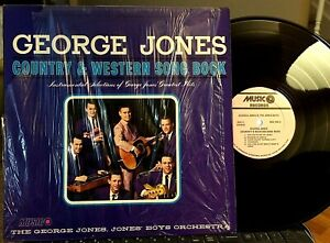 GEORGE-JONES-039-BAND-JONES-BOYS-C-amp-W-Song-Book-Musico-MDS1045-1970-NM-EX
