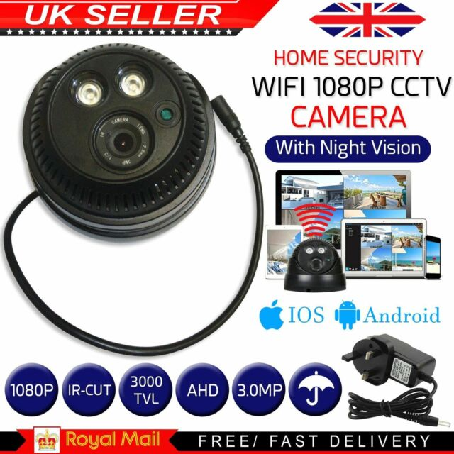 IP Camera Wifi Wireless Security 1080p Hidden Spy Hd CCTV home Security Night UK