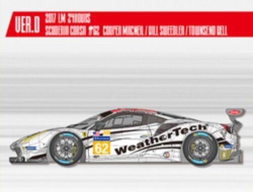 Model Factory Hiro  Ferrari 488 GTE Ver. D 2018 Multi Material Kit K-646