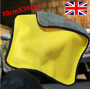Microfibra-Lavaggio-auto-Cura-Lucidatura-asciugamani-Peluche-lavaggio-asciugatura-asciugamano-pulito