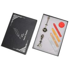 Practical Durability Wax Seal Stamp Kit Set Rosewood Handle Copper Hea Dl