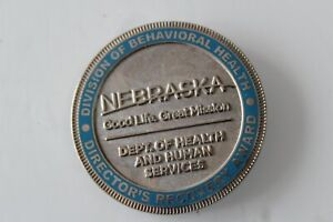 Director's Recovery Award Division of Behavioral Health Challenge Coin