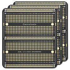 Electrocookie Pcb Prototype Board Double Column Solderable Breadboard For Ele