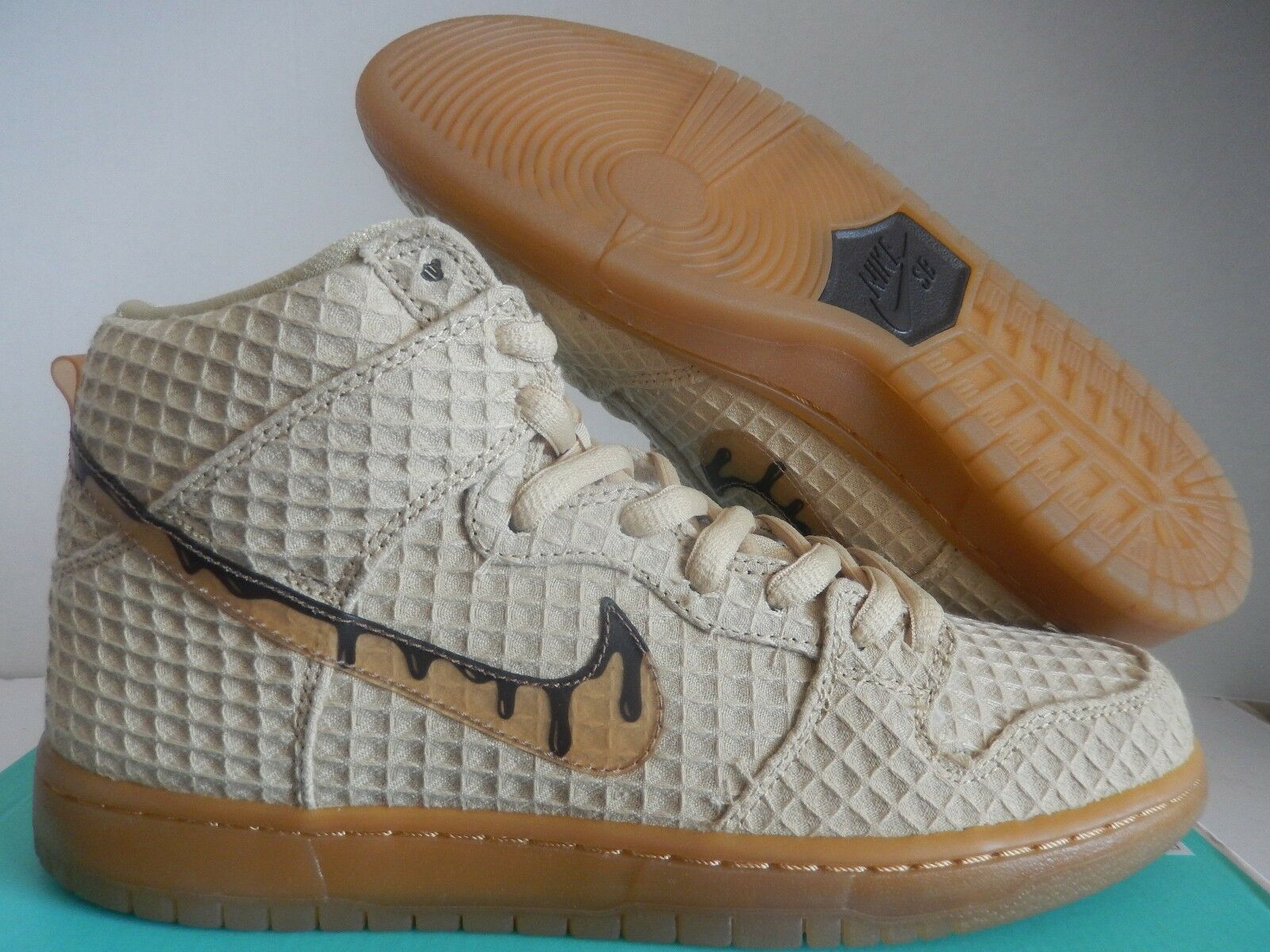 NIKE DUNK HIGH PREMIUM SB CHICKEN AND WAFFLES SZ 7 [313171-722]