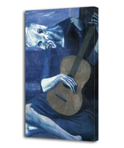 PABLO PICASSO The Old Guitarist CANVAS PRINT Decor Art Painting Giclee ALL SIZES