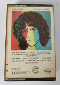 Billy Squier Emotions in Motion (1982 Capitol Records) Audio Cassette Tape