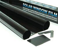 DARK SMOKE 15% CAR WINDOW TINT 3m x 75cm FILM TINTING