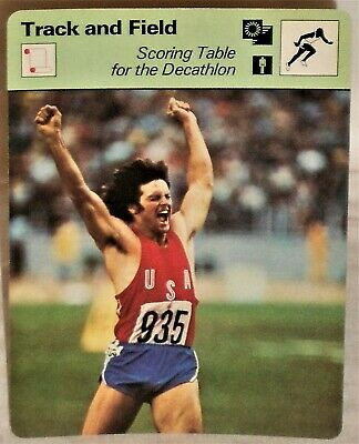 1983 TOPPS OLYMPIANS BRUCE JENNER CARD #50 MULTIPLES AVAILABLE OLYMPIC DECATHLON
