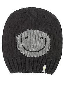 Herzhaft Logo Flag Jade Weiß m60 Grobstrick Mütze Freaky Heads Beanie Wintermütze Happy Face