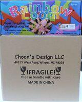 Case Of 12 - Orginal Rainbow Loom Rubber Band Bracelet Making Kits Sealed Case