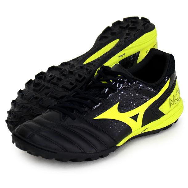 Mizuno Japón monarcida Sala Eli césped Fútbol Indoor Fútbol Zapatos Q1GB1910 Negro