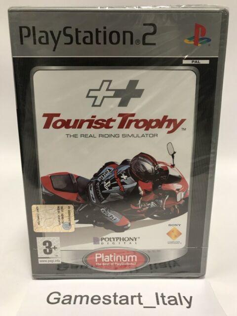 TOURIST TROPHY THE REAL RIDING SIMULATOR - SONY PS2 - VIDEOGIOCO NUOVO SIGILLATO