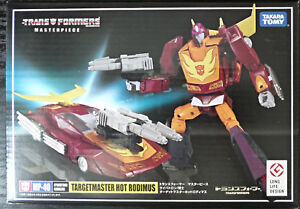 2018 Takara Tomy G1 Chef d'oeuvre des transformateurs MP-40 Targetmaster Hot Rodimus Ny