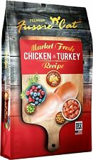 Fussie Cat 32065 Market Fresh Chicken & Turkey Recip 10 LB B6 Fatty Acids