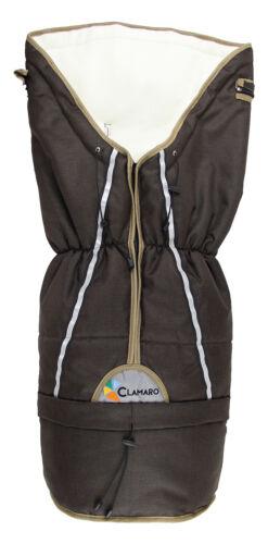 Fußsack für Kinderwagen Winter Winterfußsack Universal Thermo Buggy Clamaro