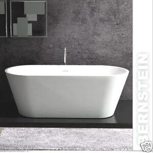 Vasca da bagno freestanding almeria solid stone scarico troppopieno rubinetteria ebay - Scarico vasca da bagno ...