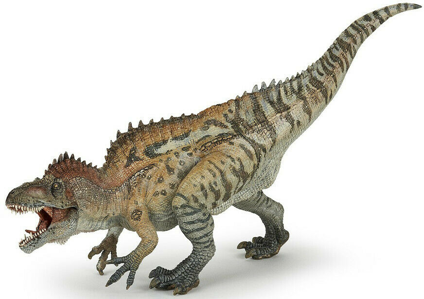 ACROCANTHOSAURUS Dinosaur 55062  USA w Papo Items