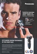Panasonic ES-LV81 LV61 Shavers Jamie Roberts 2012 Magazine Advert #7214