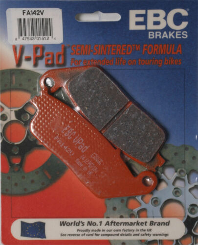 Honda CN250 Helix,GL1500C//CD Valkyrie,ST1100,ST110 EBC BRAKE PADS V-SERIES Fits