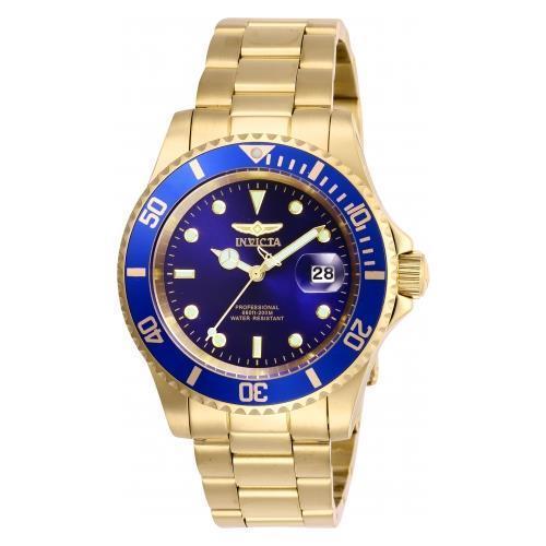 Invicta Men's 26974 Pro Diver Quartz Stainless Steel Gold Tone Watch 26974