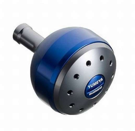 Shimano Reel Yumeya Handle Aluminum Round Power Handle Yumeya Knob Blau L Knob for Type B F/S 50a836