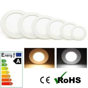 LED-Einbauspot-Deckenlampe-Wandleuchte-Slim-Unterputz-Lampe-4W-6W-9W-12W-15W-18W