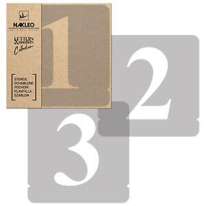 Pochoirs-Chiffres-Reutilisables-70mm-Nombres-Times-Roman-Alphabet-Letterage