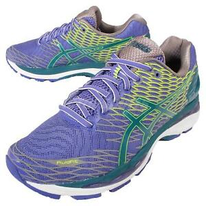 Asics-Gel-Nimbus-18-Lite-Show-Purple-Green-Men-Running-Shoes-Sneakers-T60XQ-5338