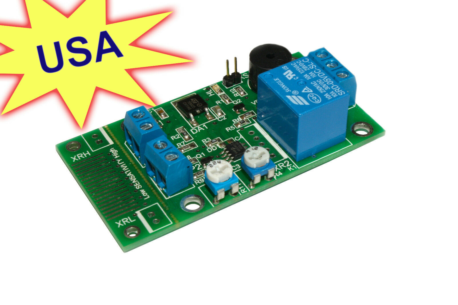 Digital Water Rain Sensor V 2 0 Leak Flood Detector Alarm PCB Module H 2 O