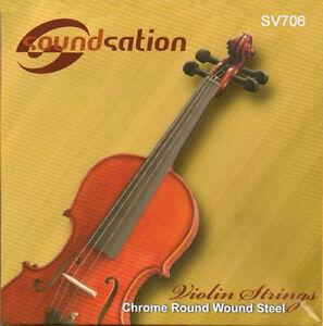 Corde-Violino-Muta-Set-Completo